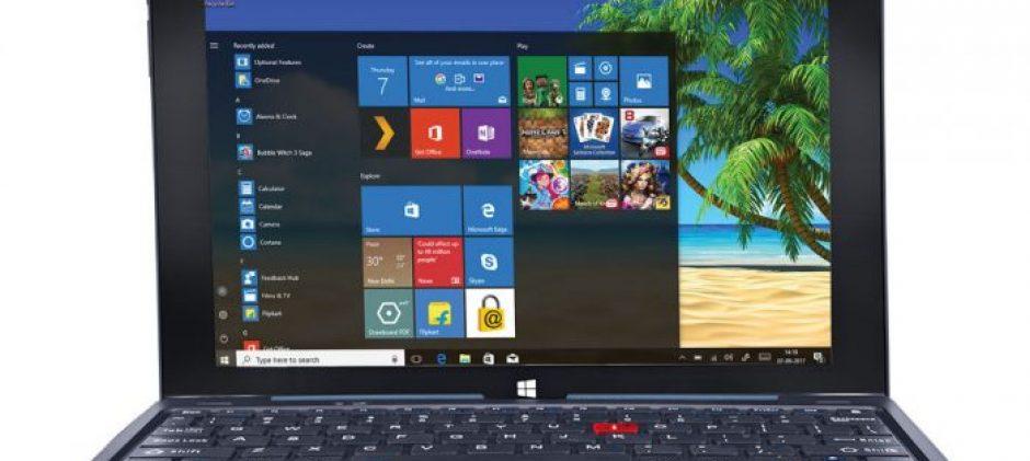 iBall Slide PenBook Windows 10 2-in-1 with Stylus, Fingerprint Scanner