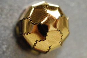 An Easy to Make Curved Image Sensor for Optoelectronics Origami