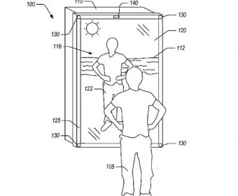 Amazon Patents a Cyber Reality Mirror That Helps You Try on Digital Clothes