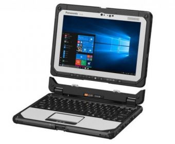 Panasonic Toughbook 20 puts your old Laptop' Battery to Shame