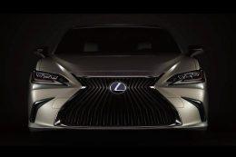 2019 Lexus ES Revealed Before Beijing Debut