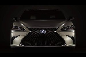 2019 Lexus ES Revealed Before Beijing Debut