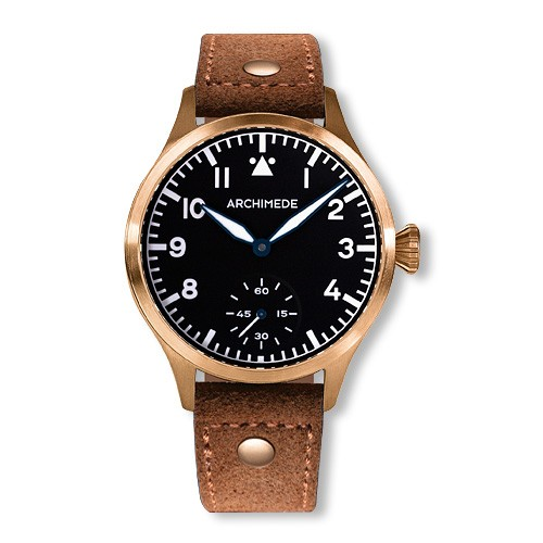 Best Affordable watches Archimede Pilot 42H Bronze