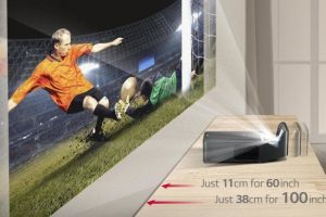 The LG PF1000UW Minibeam Ultra Short Throw Projector Could be the Perfect Fit for You