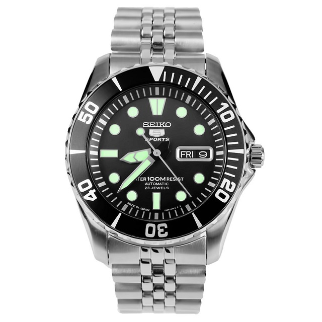 Best Affordable Watches Seiko 5 Sports SNZF17
