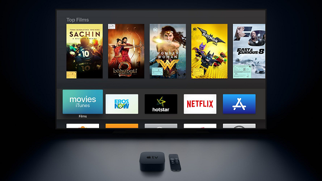 Apple TV 4k streaming