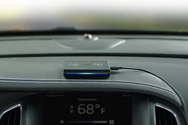 Amazon Echo Auto Alexa Car Accessory