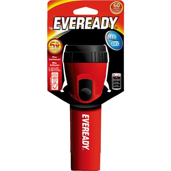 Best Flashlight Review Eveready Economy LED
