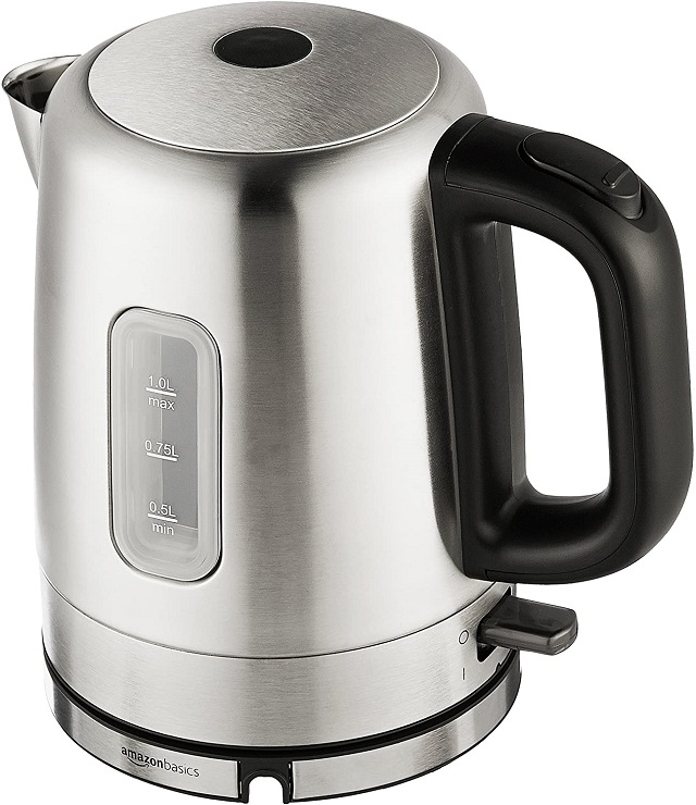 Best Electric Kettle AmazonBasics Stainless Steel