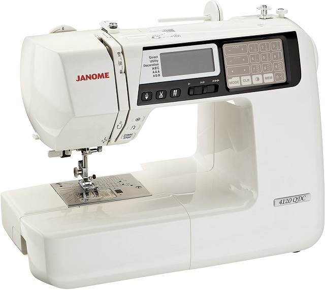 Best Sewing Machine Janome 4120QDC