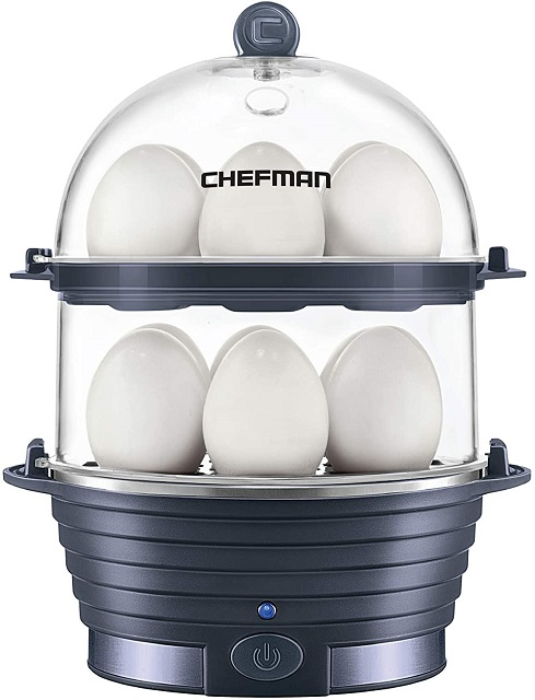 Chefman Electric Egg Cooker-Boiler