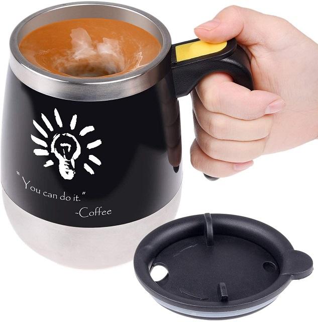 Kare & Kind self stirring mug