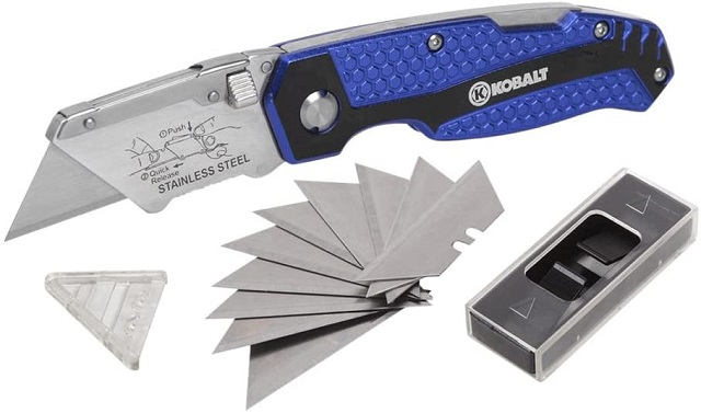 Kobalt best utility knife