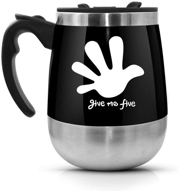 leadnovo self stirring mug