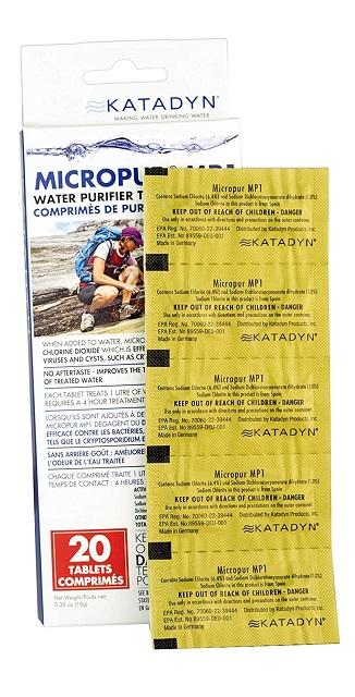 Water Purification Tablets Katadyn Micropur MP1
