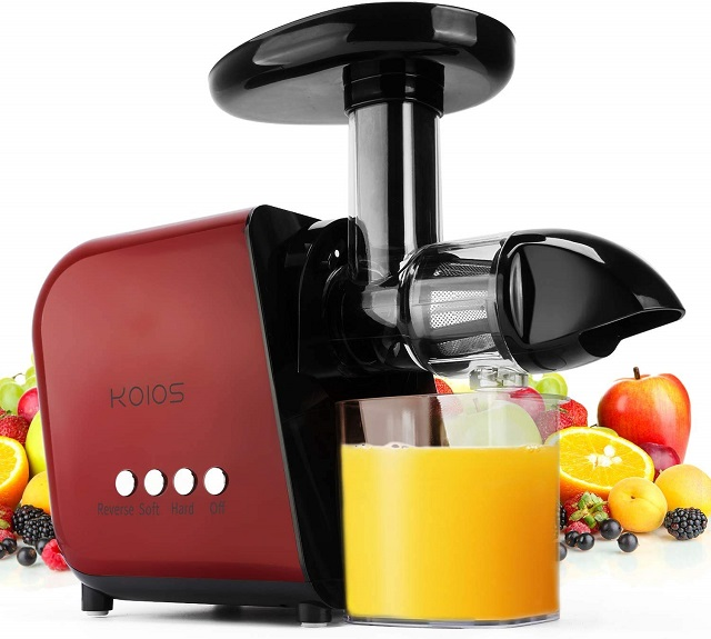 Best Juicer for Greens Masticating Machine KOIOS