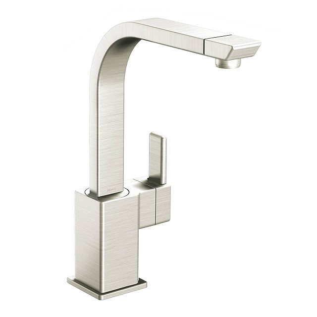 Moen S7170 90-Degree One-Handle High Arc Kitchen Faucets