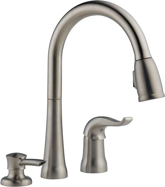 delta faucet kate single-handle kitchen faucets