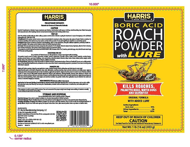 Harris' Boric Acid Best Roach Killer With Lure