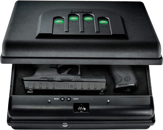 Best Biometric Gun Safe GUNVAULT MICROVAULT