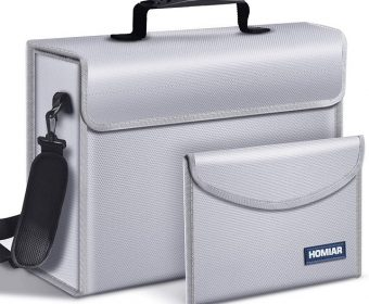 Best Fireproof Document Bag