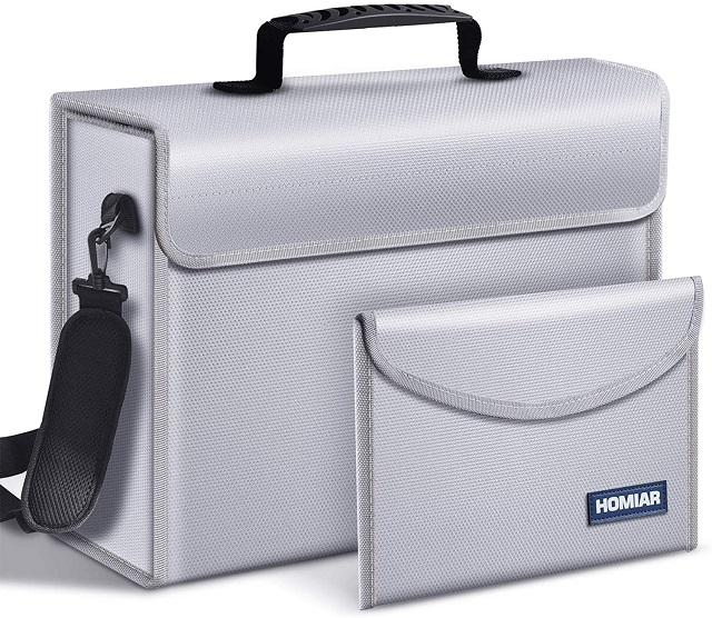 Homiar Fireproof Document Bag