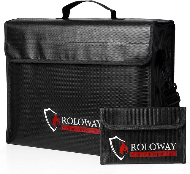ROLOWAY Fire resistant & Water Resistant Bag